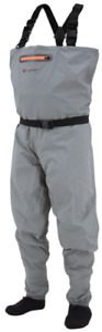 NIB Men Frogg Toggs 2711136 Canyon Breathable Stockingfoot Slate Fishing Wader