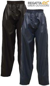 New Kids Boys Girls Regatta Stormbreak Waterproof Rain Over Trousers Age: 2-16