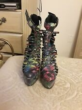 """Penny Sue """"Vengeance"""" Women's High Heel stilletto booties.  NEW WITHOUT BOX"""
