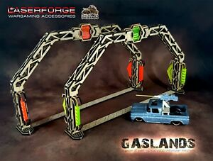 GASLANDS: PREMIUM GATES (6) - Acrylic & MDF
