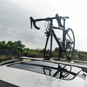 Bike Fork Mount Car Rack Holder Quick Release Thru Axle Bikes Carrier
