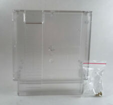 Clear Cartridge Shell For NES Entertainment System with 3pcs Security screws
