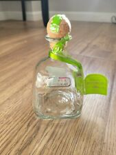 Patron Silver Tequila 100% De Agave 375 empty bottle with cork