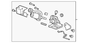 Genuine GM Motor Assembly 84452642