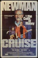 The Color of Money (1986) Australian One Sheet PAUL NEWMAN