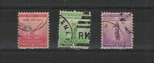 U.S.A. États-Unis 1940 défense Nationale 3 timbres oblitérés  /T2023