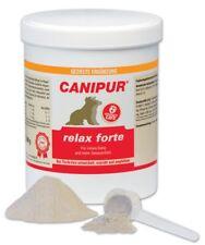 CANIPUR - relax forte Ergänzungsfutter Hunde 650 g Innere Ruhe, Gelassenheit neu