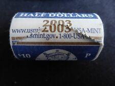 2003-P 50C Kennedy Half Dollar Mint Bu Roll - FREE SHIPPING!!!!!