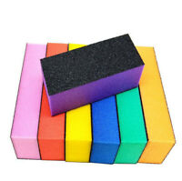 10 PCS Nail Art Tools File Buffer Buffing Sanding 3-Way Block Manicure Tool