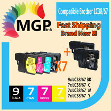 30 generic INK LC67 LC38 for Brother DCP385C MFC990CW DCP145C DCP165C 490