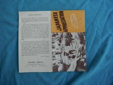 WWII home front, Moody Press, religious tract, Japanese Appreciation