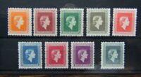 New Zealand  Officials 1954 - 63 set to 3s MNH SGO159 - SGO167
