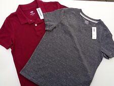 NEW! Lot of 2 Old Navy T-shirt Tee Short sleeve Boys Size S ( 6 - 7 ) boy polo
