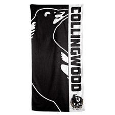 Collingwood Magpies AFL Footy Bath Beach Gym Towel 150cm X 75cm