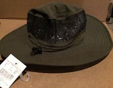 Polyester Outback Hat With Mesh Crown Dark Charcoal Color Size L/XL New/Tag