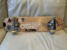 Complete Mini Skateboard Signed By Bill Danforth Tracker Dart Trucks