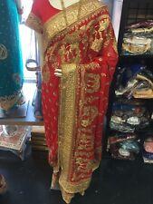 Designer Heavy Stonework Bridal Saree
