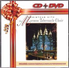 Christmas With the Mormon Tabernacle Choir CD + DVD Set MINT Laserlight FREE S&H