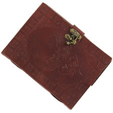 Handmade Medieval Writing Drawing Celtic Lovebirds Leather Journal Diary