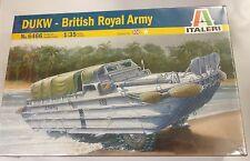 Italeri 1/35 DUKW Amphibian Briish Royal Army 6466