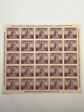 Scott #731 US Postage 3 Cent Mt. Rainier Stamp Sheet Mint NH