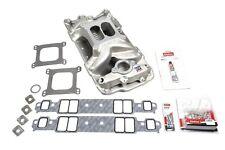 EDELBROCK SBC 7501 Intake Manifold & Installation Kit P/N - 2042