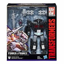 Hasbro Transformers Power of The Primes Nemesis Prime Black Optimus Action Figure