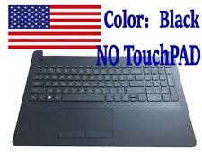 New HP 15-BS020WM 15-bs013dx 15-BS015dx Laptop Black Palmrest with Keyboard