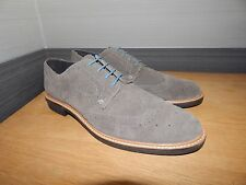 Bnwt Redfoot Suede Brogue Lace Up Shoes In Size Uk 9 Charcoal Grey (Y20)
