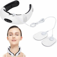 Electric Massager Pulse Back Neck Safe Care Far Infrared Pain Relax Tool Health