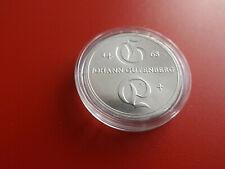 * DDR 10 Mark 1968 Silber * Johann Gutenberg  (Schub110)