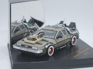 DeLorean LK DMC12 Back to the Future Part 3 w/ whitewall tyre 1/43 Vitesse 24013