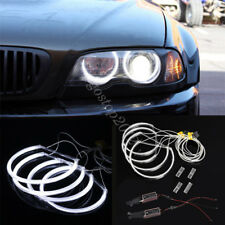 For BMW E46 Coupe Convertible Sedan Non-Project CCFL Angel Eyes Halo Ring Light