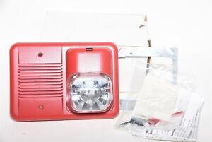 System Sensor SpectAlert CH24MC Wall Chime/Strobe Red