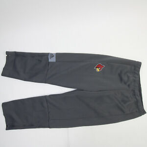 Louisville Cardinals adidas Athletic Pants Men's Gray New with Tags