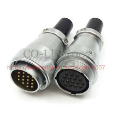 WS28 16Pin Connector, High Voltage Industrial Power Cable Connector 10A LED Plug