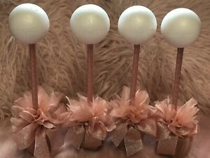 new bnwot 4 X Rose Gold sweet kits trees table centres gifts activities DIY **