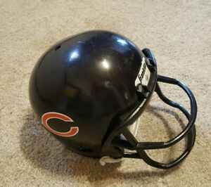Chicago Bears Helmet Franklin Kids YOUTH Football with Chin Strap Children's