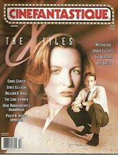 CINEFANTASTIQUE OCTOBER - THE X-FILES - GILLIAN ANDERSON COVER - ANDROMEDA