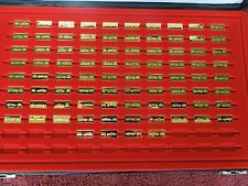 "Franklin Mint ""The World's Great Performance Cars"" 84 of 100 Silver Gold Ingots"