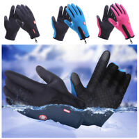 Brown Womens Gloves Touchscreen Thin Riding Cotton Ski Snow Lot Bulk