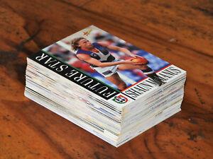 SELECT 1996 AFL FOOTBALL 67 CARDS FREMANTLE DOCKERS HUGE BULK LOT from SET