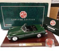 "1:18 Corgi ""1963 MK1 MGB GT ROADSTER"" (British Racing Green) LTD EDITION RARE MG"