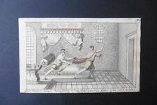 GERMAN SCHOOL 1773 - BIBLICAL SCENE BY FELLINGER - FINE WATERCOLOR
