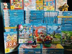 NINTENDO Wii U    DIE BESTEN SPIELE IN OVP    GARANTIE VOM HÄNDLER   