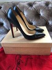 33708a20f90 Christian Louboutin Pigalle 120 Black Kid Heels Courts Shoes Size Uk 4.5 Eu  37.5