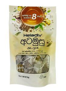 Ceylon Herbal Spice TEA  Heladiv 100% Natural Premium 15 Bags FREE Shipping