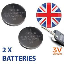 Remote Key Fob Battery (x2 CR2450) for Volvo S40, V50, C30, C70 (08-) XC60
