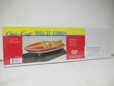 Dumas Boats 1708 1/24 1955 Chris Craft 21' Cobra Boat Display Model Kit