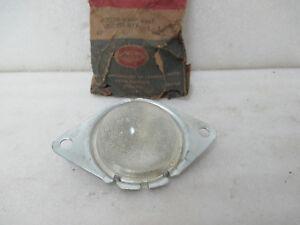 Mopar NOS 1955-58 Plymouth Plaza Savoy Belvedere Fury Rear License Lamp 1605150